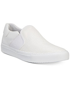 A|X Armani Exchange Men's Perforated Slip-On Sneakers