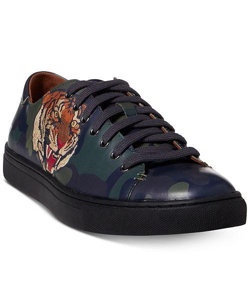 Polo Ralph Lauren Men S Jermain Logo Sneakers Amp Reviews