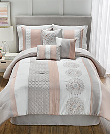 Crawford 7-Pc. Full Comforter Set