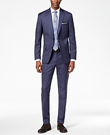 Men's Modern-Fit Stretch Textured Suit Separates