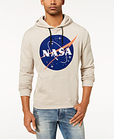 Bioworld Men's Graphic Print NASA Hoodie