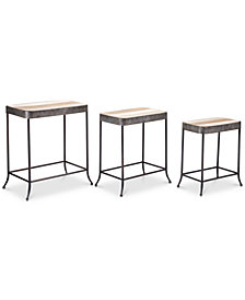 Jadin Side Table (Set Of 3), Quick Ship