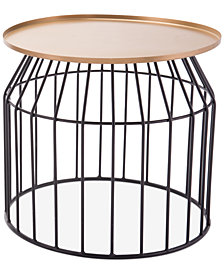 Urben Small End Table, Quick Ship
