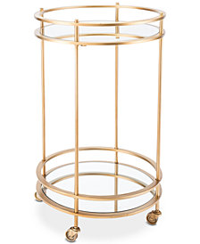 Wylda Bar Cart, Quick Ship