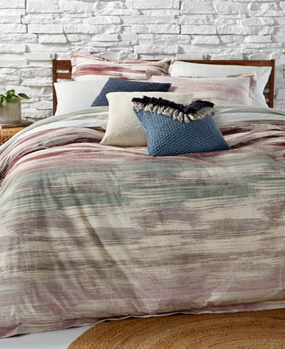 BCBGeneration Midnight Brushstrokes Reversible 3-Pc. Full/Queen Comforter Set