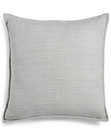 "Hotel Collection Knit 20"" Square Decorative Pillow, Created for Macy's"