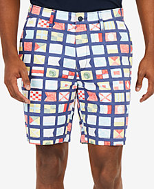 "Nautica Men's Scaled Printed 8.5"" Shorts"