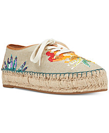 Nine West Guinup Lace-Up Espadrilles