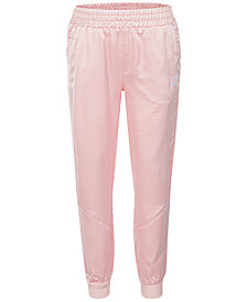Nike Dry Satin Jogger Pants, Little Girls