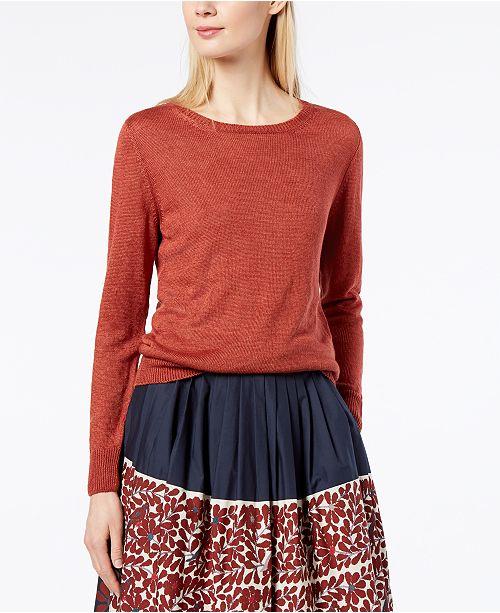 3bea8d5e9886 Weekend Max Mara Astor Linen Sweater   Reviews - Sweaters - Women ...