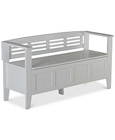 Fernley Storage Bench, Quick Ship