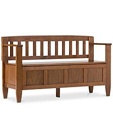 Winslow Storage Bench, Quick Ship