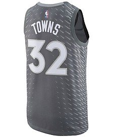 adidas Men's Karl-Anthony Towns Minnesota Timberwolves  City Swingman Jersey