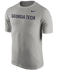 Nike Men's Georgia-Tech Dri-Fit Legend Wordmark T-Shirt
