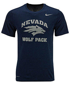 Nike Men's Nevada Wolf Pack Dri-Fit Legend 2.0 Logo T-Shirt