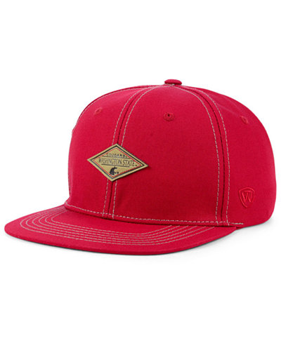 Top of the World Washington State Cougars Diamonds Snapback Cap