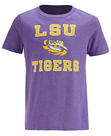 Retro Brand LSU Tigers Dual Blend T-Shirt, Big Boys (8-20)