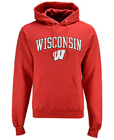 Champion Men's Wisconsin Badgers Arch Logo Hoodie