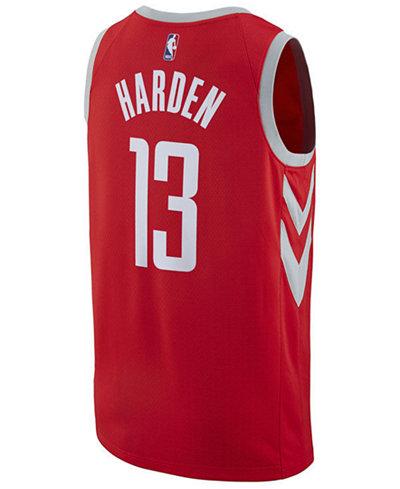 adidas Men's James Harden Houston Rockets City Swingman Jersey