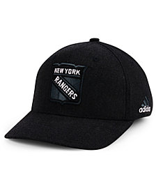 adidas New York Rangers NHL Black Tonal 873 Flex Cap