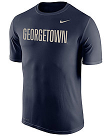 Nike Men's Georgetown Hoyas Dri-Fit Legend Wordmark T-Shirt