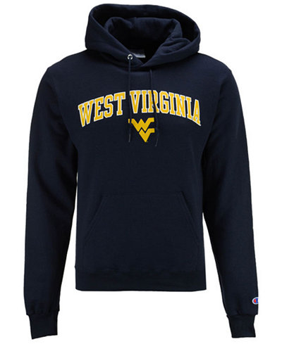 Champion Men's West Virginia Mountaineers Arch Logo Hoodie