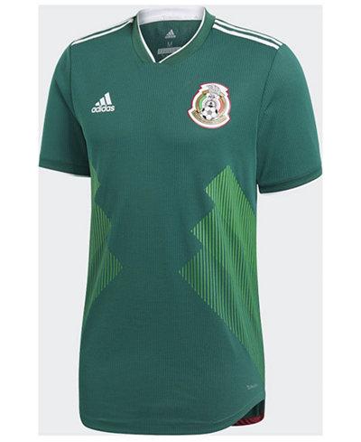 adidas Mexico National Team Home Stadium Jersey, Big Boys (8-20)