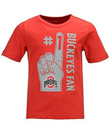 Outerstuff Ohio State Buckeyes Foam Finger Fan T-Shirt, Toddler Boys