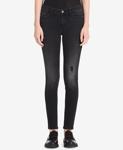 Calvin Klein Ripped Skinny Jeans