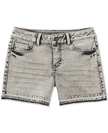 Calvin Klein Released Hem Denim Shorts, Big Girls