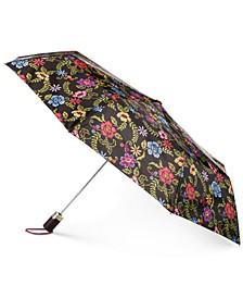 Signature Auto-Open Compact Umbrella with NeverWet®