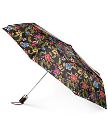 Totes Signature Auto-Open Compact Umbrella with NeverWet®