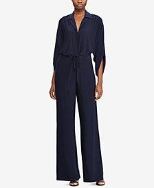 Lauren Ralph Lauren Wide-Leg Jersey Jumpsuit