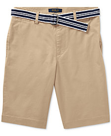 Ralph Lauren Slim-Fit Shorts, Big Boys