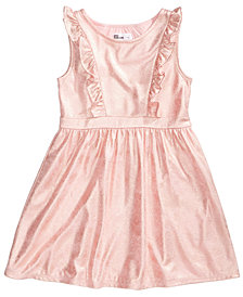 Epic Threads Ruffle-Trim Dress, Toddler Girls, Created for Macy's