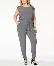 MICHAEL Michael Kors Plus Size Printed Jumpsuit