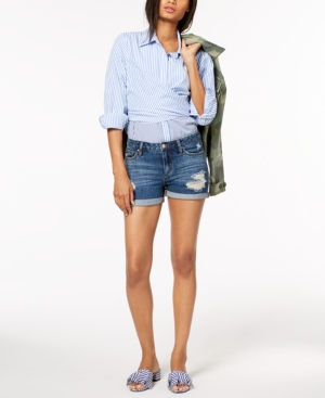 Joe's Jeans  JOE'S THE ROLLED RIPPED DENIM SHORTS