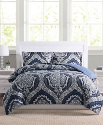 Dorchester 2-Pc. Reversible Twin/Twin XL Comforter Set, Created for Macy's