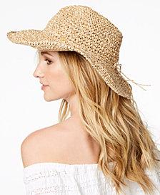 Steve Madden Packable Cowboy Floppy Hat