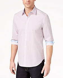 Con.Struct Men's Stretch Geo-Print Shirt, Created for Macy's