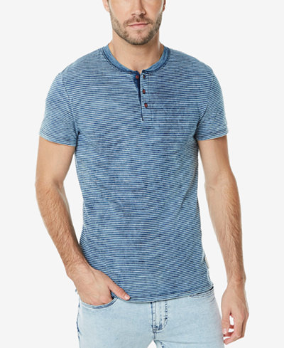 Buffalo David Bitton Men's Henley T-Shirt