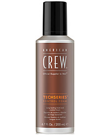 American Crew Techseries Control Foam, 6.7-oz., from PUREBEAUTY Salon & Spa