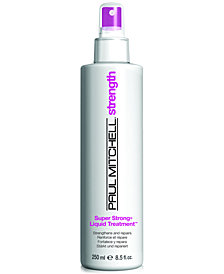 Paul Mitchell Super Strong Liquid Treatment, 8.5-oz., from PUREBEAUTY Salon & Spa