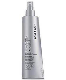 JoiFix Medium Finishing Spray, 10.1-oz., from PUREBEAUTY Salon & Spa
