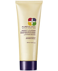 Pureology Perfect 4 Platinum Reconstruct Repair Masque, 6.8-oz., from PUREBEAUTY Salon & Spa