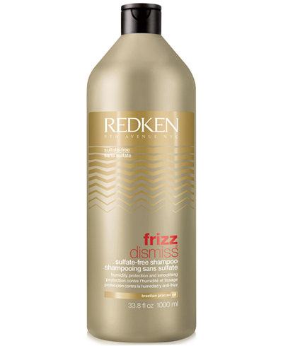 Redken Frizz Dismiss Shampoo, 33.8-oz., from PUREBEAUTY Salon & Spa