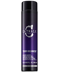 TIGI Catwalk Your Highness Elevating Shampoo, 10.14-oz., from PUREBEAUTY Salon & Spa
