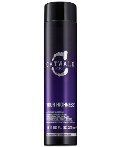 TIGI Catwalk Your Highness Elevating Shampoo, 10.14-oz., from PUREBEAUTY Salon & Spa