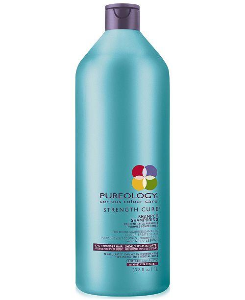 Pureology Strength Cure Shampoo, 33.8-oz., from PUREBEAUTY Salon & Spa