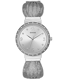 Women's Stainless Steel Mesh Bracelet Watch 36mm